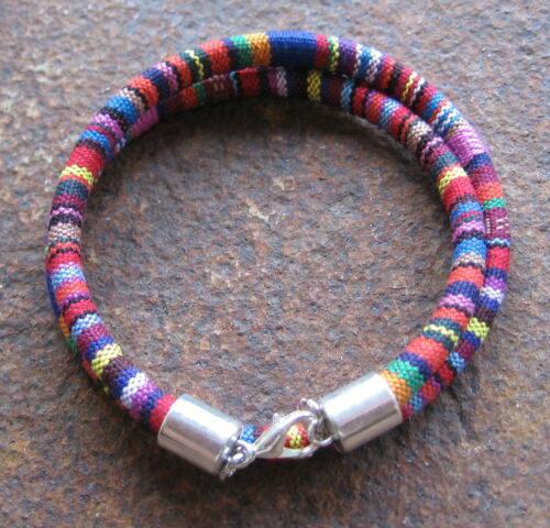 Ethno Bracelet Multicolour Men/'s Women/'s Surfer Wraparound Necklace Wrap-Around