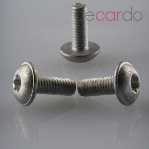 20 x universal mercdes//ford tornillos Torx n000000001476 m6x16 torque screw