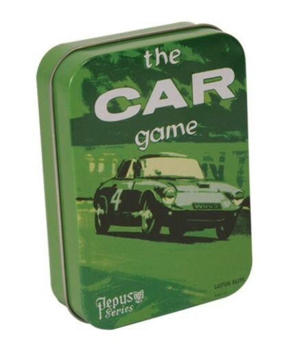 In a tin Pepys Series Card game The Car Game