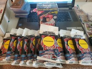 Topps-Baseball-2018-Value-Pack-11-Lot-And-1-Blaster-BLOWOUT