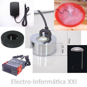 Kit Control de Humedad para Incubadoras Higrostato Humidificador Completo 24-72H