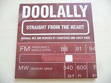 "CD PROMO SINGOLO DOOLALLY ""STRAIGHT FROM THE HEART"" - CHOCOLATE BOY 1998"