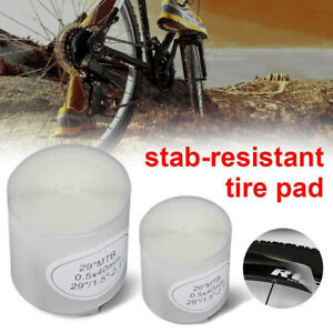 2Pcs Mountain Bike Tire Liner Anti Puncture Belt Road Bicycle Tube Protector Kit