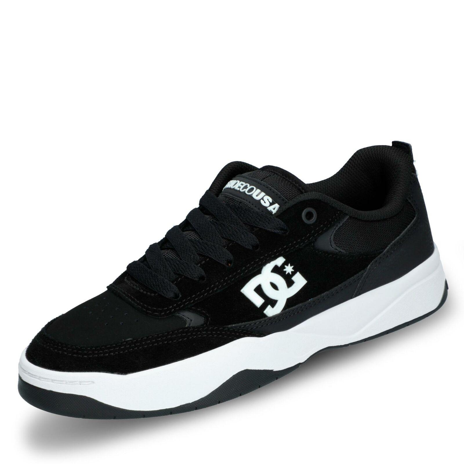 DC Penza Herren Turnschuhe Halbschuhe Schnürschuhe Freizeitschuhe Schuhe schwarz