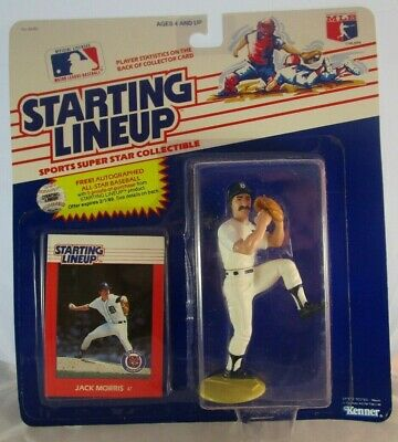 SLU Loose With Card DETROIT TIGERS Starting Lineup 1989  ALAN TRAMMELL
