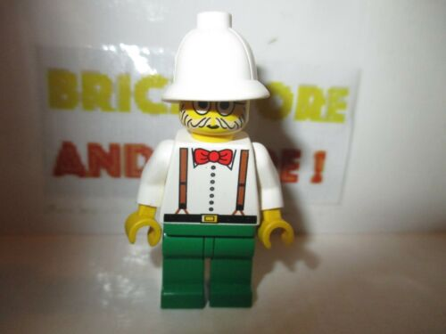 Lego Dr adv006 Charles Lightning Minifig Adventurers