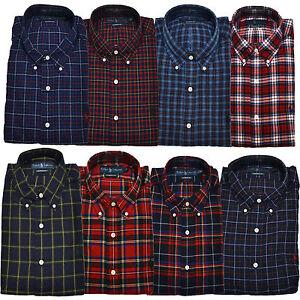 Polo Ralph Lauren Shirt Mens Button Down Casual Long Sleeve ...