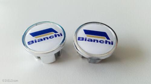 Vintage style Bianchi Handlebar End Plugs