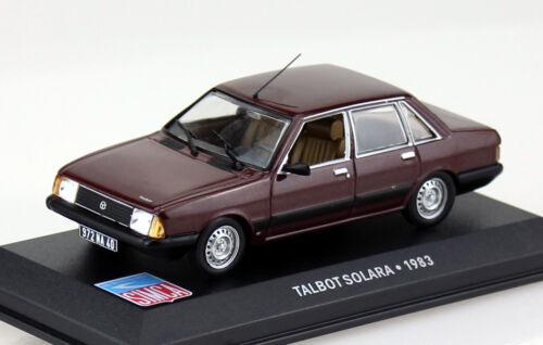 Die-cast Talbot Solara dunkelrot 1983 1:43 Ixo//Altaya Modellauto