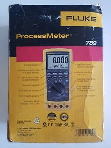 Fluke-789-ProcessMeter-Loop-Multimeter-with-HART-new-open-box