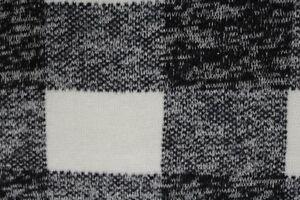 227b6dc508a Image is loading Melange-Check-Fleece-Backed-Wool-Type-Knit-Jersey-