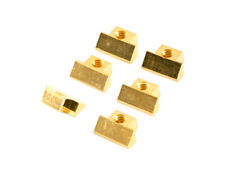 GIBSON Non-Wired ABR-1 Brass string saddles Set of 6 Gold plated