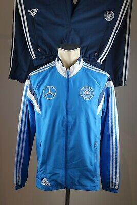 ADIDAS HERREN DFB Shirt Blau Größe M (5) Mercedes Benz