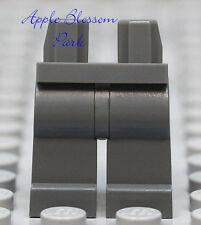 NEW Lego Star Wars Minifig Plain DARK GRAY LEGS -Boy/Girl Minifigure Blank Lower