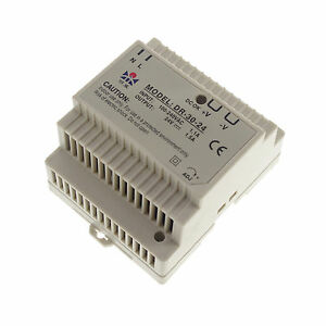 30W  24VDC 1.5A Din Rail Mounted Output Industrical Power supply