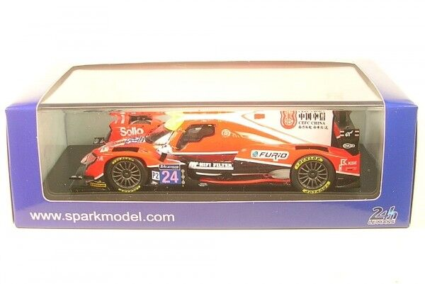 Oreca 07 - Gibson no. 24 CEFC MANOR TRS Racing - 7th Le Mans 2017 (T.Graves - J