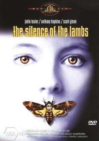 1 of 1 - The Silence Of The Lambs -  DVD LIKE NEW FREE POSTAGE AUSTRALIA REGION 4