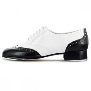 18c0c0615cc3 Bloch 341 Charleston Black   White Tap Dance Shoes