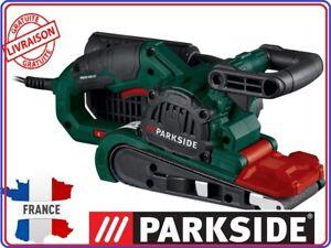 PARKSIDE-Ponceuse-a-bande-PBSD-600-A1-600W-accessoires-fixe-ou-mobile