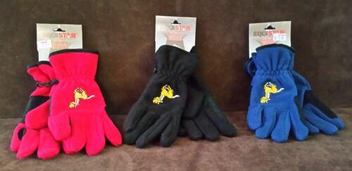 Childs/' Pony Fleece Winter Glove