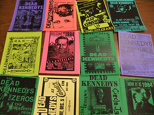 Dead-Kennedys-Repo-Concert-Flyer-Lot-TSOL-Butthole-Surfers-Bad-Brains-Feederz