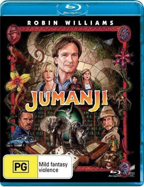 Jumanji Blu-Ray : NEW