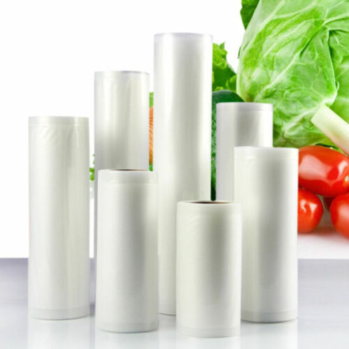 Textured Vacuum Vac Sealer Sous Vide Food Saver Storage Bag Rolls 20cm X 12m