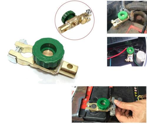 PDR*Morsetto Staccabatteria antifurto stacca batteria auto barca camper 12//24V