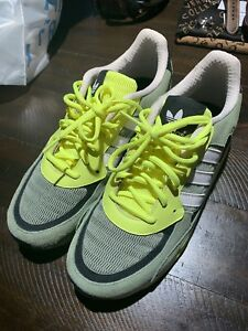 size 40 aaa1c 3b470 Image is loading Adidas-ZX850-Men-s-Shoes-Size-10-Green-