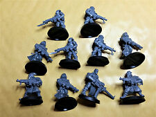 Warhammer 40k Chaos Space Marine Cultists X 10 - Plastic - Unpainted