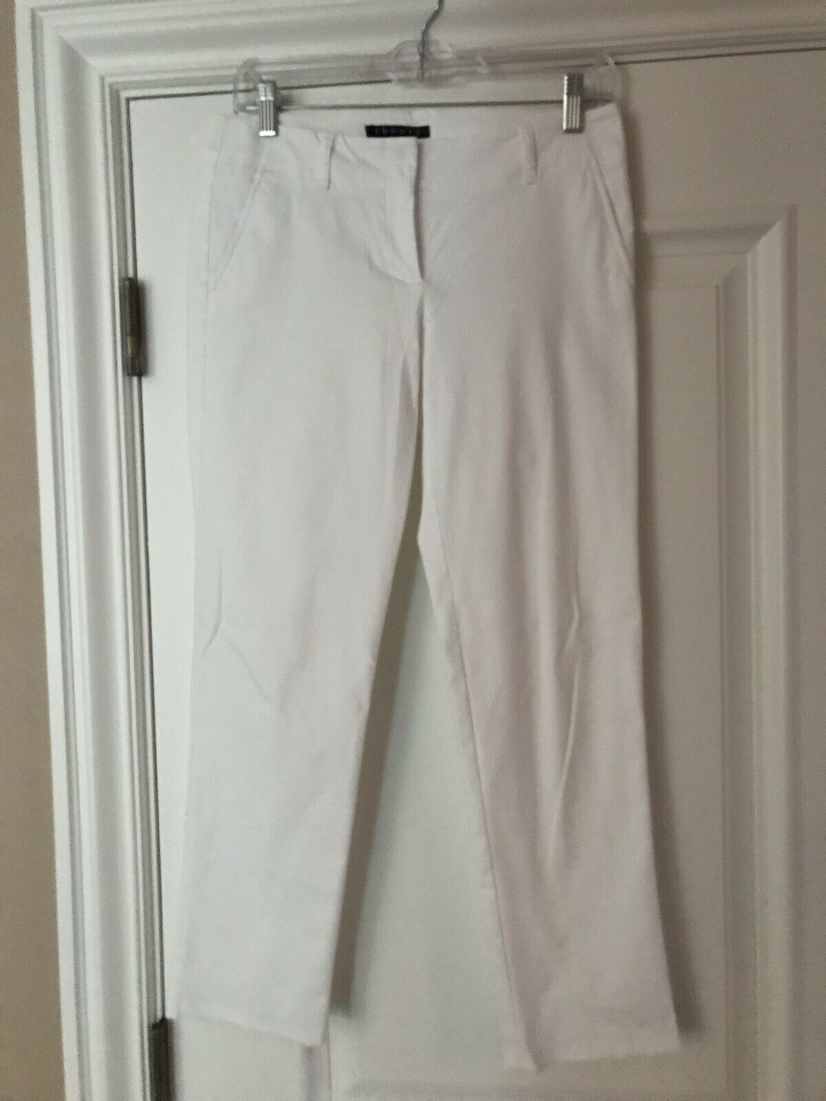 THEORY Cropped  Pants White 2