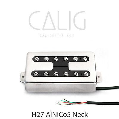 Nickel H27,H28 AlNiCo5 Retro Humbucker Pickup Neck//Bridge CALIG