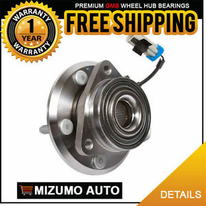 2-New-Front-Left-Right-Wheel-Hub-Bearing-Assembly-w-ABS-GMB-730-0382