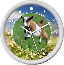 Goat Personalized Farm Animal Print Wall Clock Gift