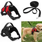 No Pull Adjustable Dog Vest Harness Leash Collar Set  for Small/Medium/Large/XL