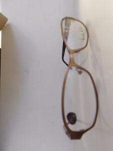 22479a32ac Image is loading Genuine-Nicole-Miller-Barrow-Copper-Brown-Eyeglasses- Glasses-