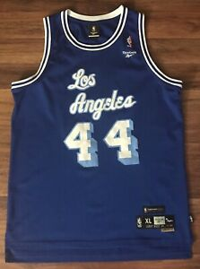 Details about Reebok Hardwood Classics Los Angeles Lakers Jerry West Jersey (Size XL)