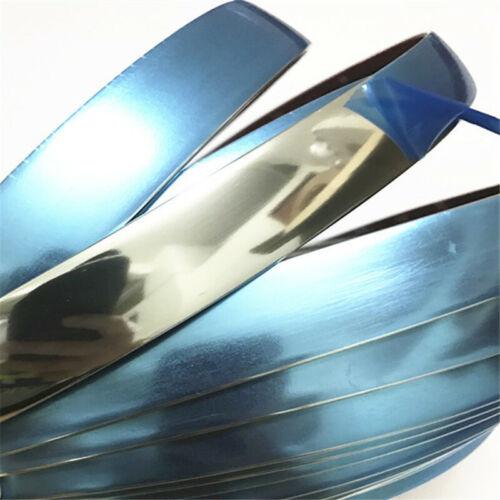 Car Silver Styling Decor Trim Strip Tape DIY Body Bumper Protect Sticker