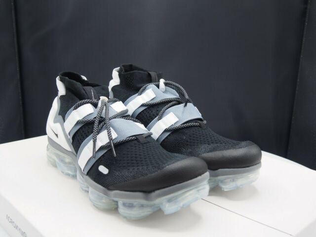 official photos 35adf 8c350 Nike Air Vapormax FK Flyknit Utility Black Cool Grey White Ah6834 003 Size  11