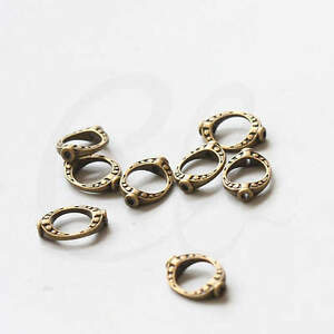 20pcs-Antique-Brass-Tone-Base-Metal-Bead-Frame-Two-Holes-Cut-Oval-35836Y-V-54