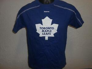 Nuevo-Toronto-Maple-Leafs-Youth-Pantalla-Impresion-Camisa-Tamano-Mediano-10-12