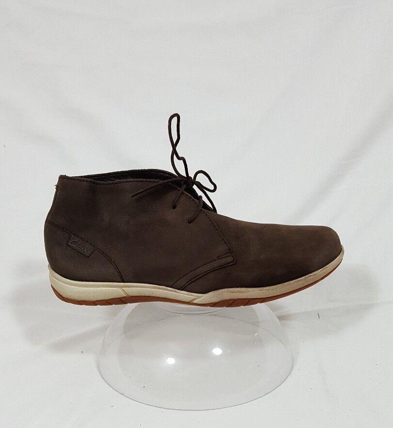 Clarks Men's Canguro Shoes Brown Suede Shoes Canguro Size 7 05c42e