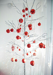 4FT OR 5FT 1006 CRYSTAL TREES METAL IN 3FT 7FT CREAM//SILVER