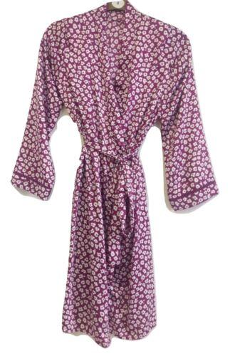Femmes Qualité Satin Robe De Chambre//Peignoir Tailles UK 8-16
