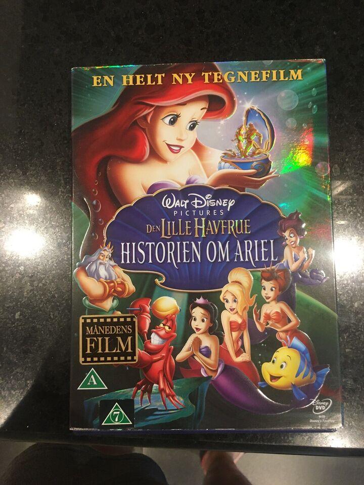 den lille Havrue, DVD, animation
