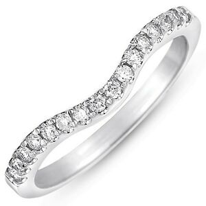 about white gold 1 3ct curved pave diamond wedding band g h i1 i2