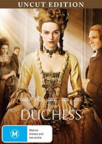 1 of 1 - The Duchess (2008) Keira Knightley - NEW DVD - Region 4