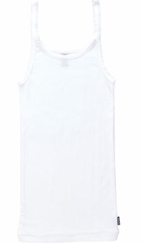 Size 12 Pink Bonds Girls Teena Vest Singlet Tank Thin Strap Great For summer