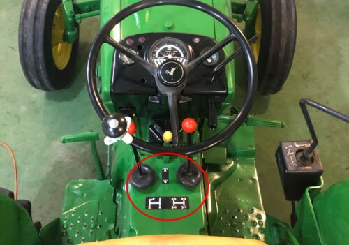Details about  /John Deere 1530 Gear Shift Pattern and PTO Lever Decals