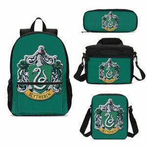 HARRY-POTTER-Backpack-School-Student-Bag-Bookbag-3pcs-Lunch-Bag-Set-Lot-Kid-Gift